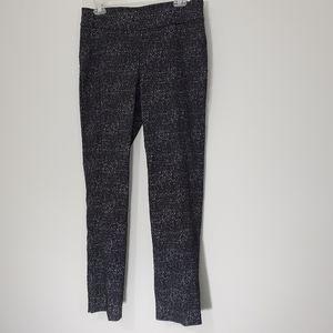 Dana Buchman Salt/Pepper Pull-on Straight Pants,